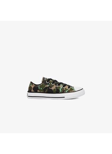Converse Unisex Çocuk Chuck Taylor Sneakers 670165C.205 Yeşil